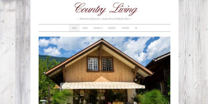Die Webseite Country-Living.ch ist nun online!